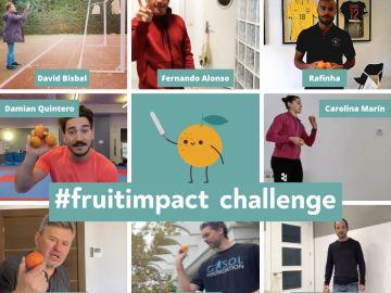 El reto #fruitimpact para luchar contra la obesidad infantil se hace viral