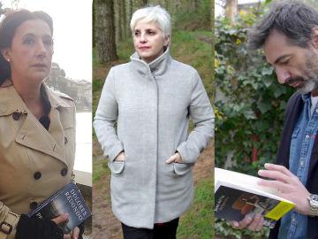 Dolores Redondo, Maite Ochotonera y Juan del Val en Crea Lectura