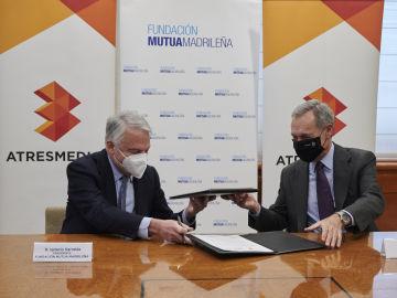 Fundación Mutua Madrileña y Antena 3 Noticias han renovado su compromiso para seguir combatiendo la violencia de género a través de la acción de Responsabilidad Corporativa 'Contra el maltrato. Tolerancia Cero'