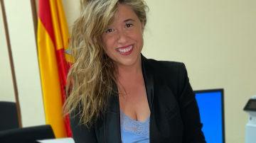 Escarlata Gutiérrez, fiscal.
