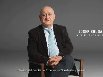 """Josep Brugada, catedrático de cardiología: """"Lo peligroso es el virus. Vacúnate, por ti y por todos"""""""