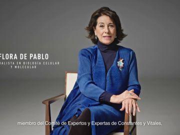 """Flora de Pablo, especialista en Biología Celular y Molecular: """"Lo peligroso es el virus. Vacúnate, por ti y por todos"""""""