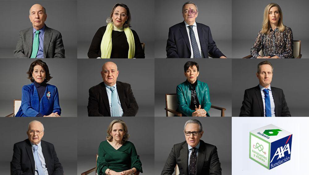 Los miembros del comité de expertos de Constantes y Vitales
