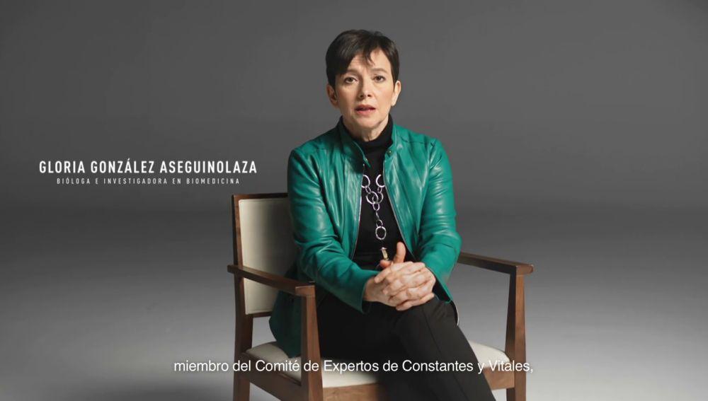 """Gloria González, bióloga e investigadora en Biomedicina: """"Lo peligroso es el virus. Vacúnate, por ti y por todos"""""""
