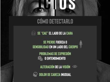 Los síntomas del ictus