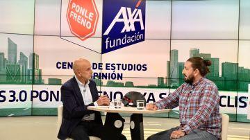 Campeón paralímpico, Roberto Alcaide, en las Jornadas Ponle Freno