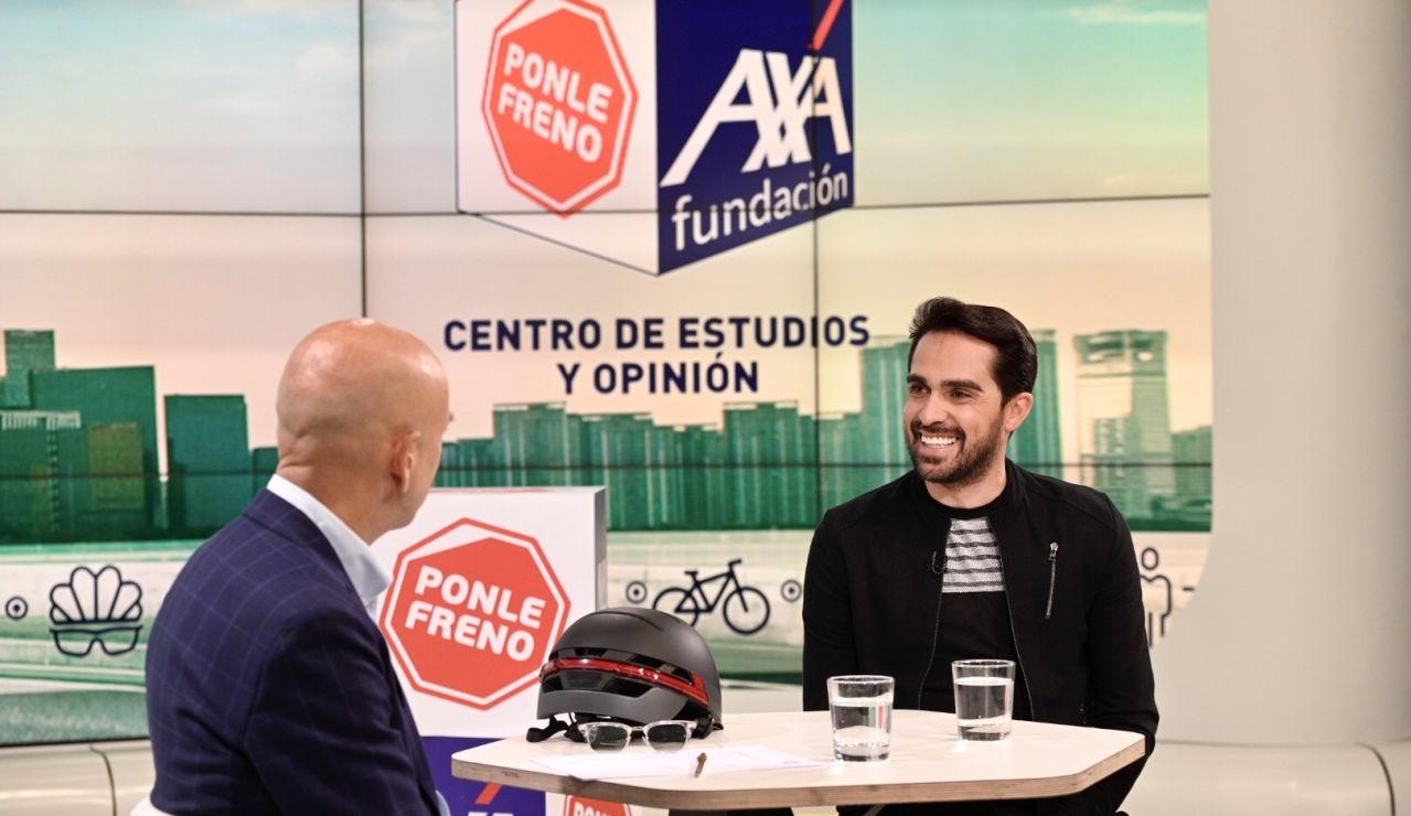 lberto Contador aboga por la obligatoriedad del casco en la bicicleta durante las Jornadas 3.0 de Ponle Freno