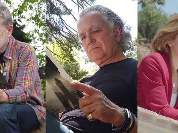 Alberto Chicote, Juan Ramón Lucas y Men Marías en Crea Lectura