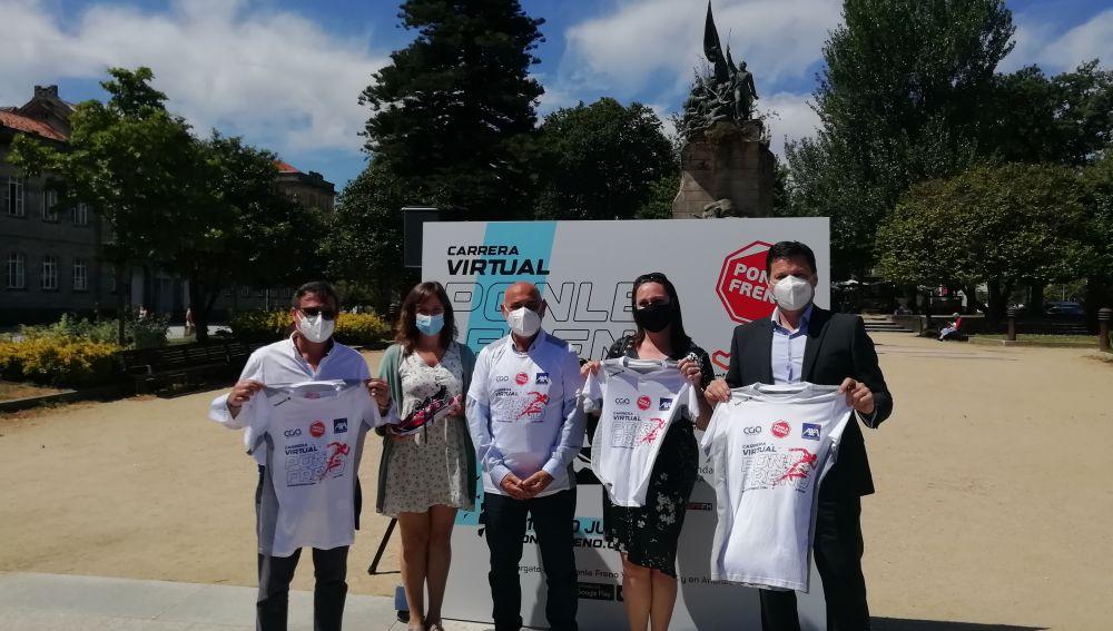 Ponle Freno presenta su Carrera Virtual en Pontevedra