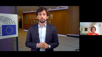 El eurodiputado Adrián Vázquez Lázara