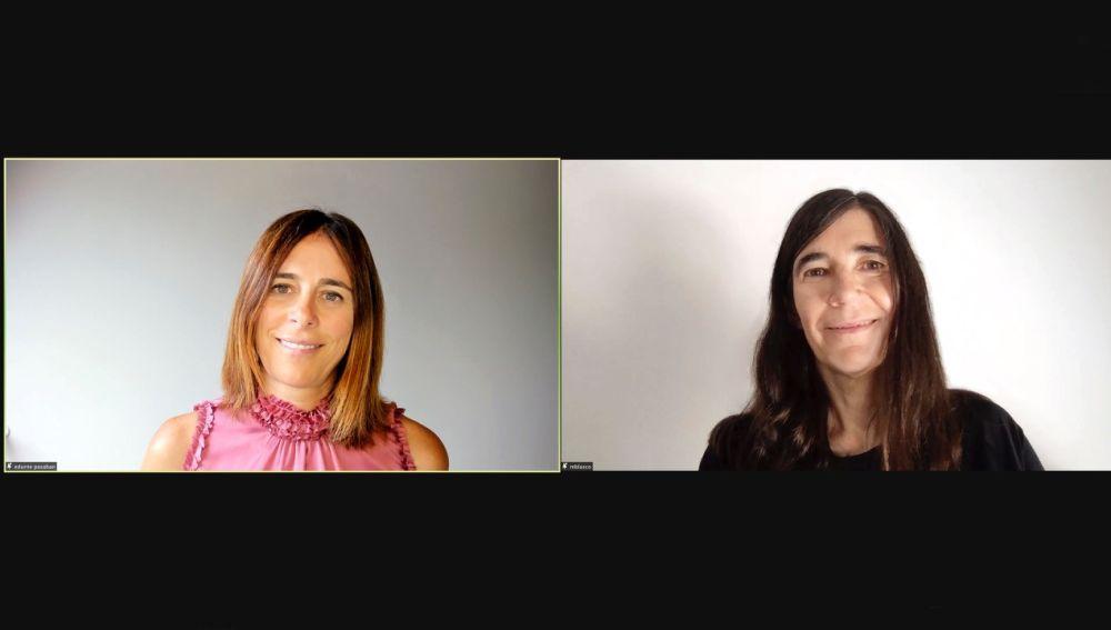 Edurne Pasaban y María A. Blasco