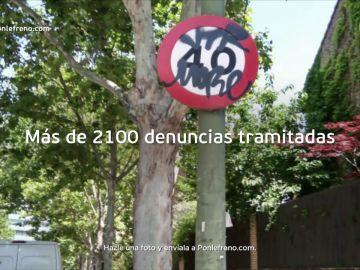 Ponle Freno lanza la séptima edición de su campaña para denunciar 'Señales y carreteras en mal estado'