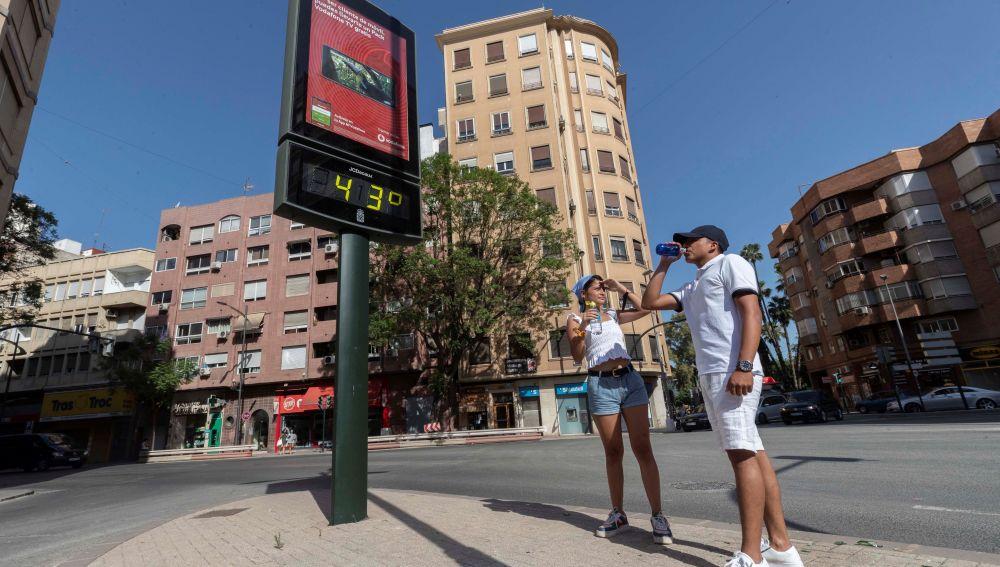 Sicilia alcanza la temperatura más alta de Europa