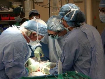 Cirugía para un trasplante