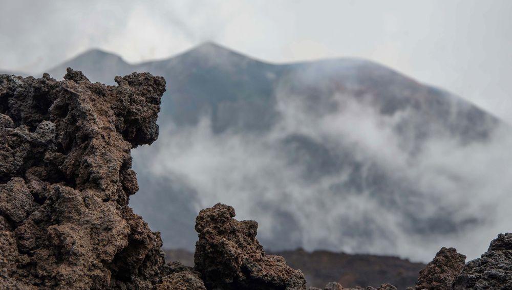 Volcán Etna en Sicilia