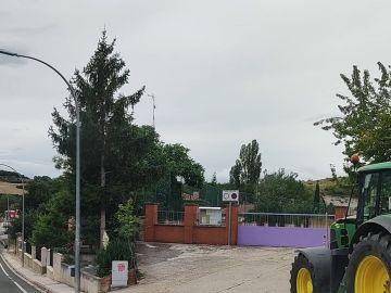 Los autobuses escolares no pueden estacionar en esta carretera de Burgos