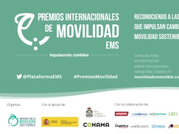 Empresas por la Movilidad Sostenible lanza la 2ª edición de sus Premios Internacionales de Movilidad EMS