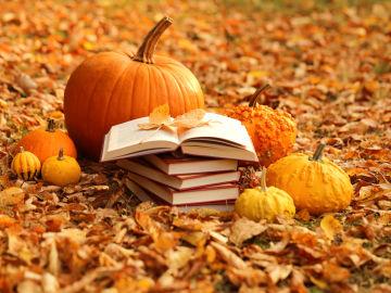 Libros en otoño