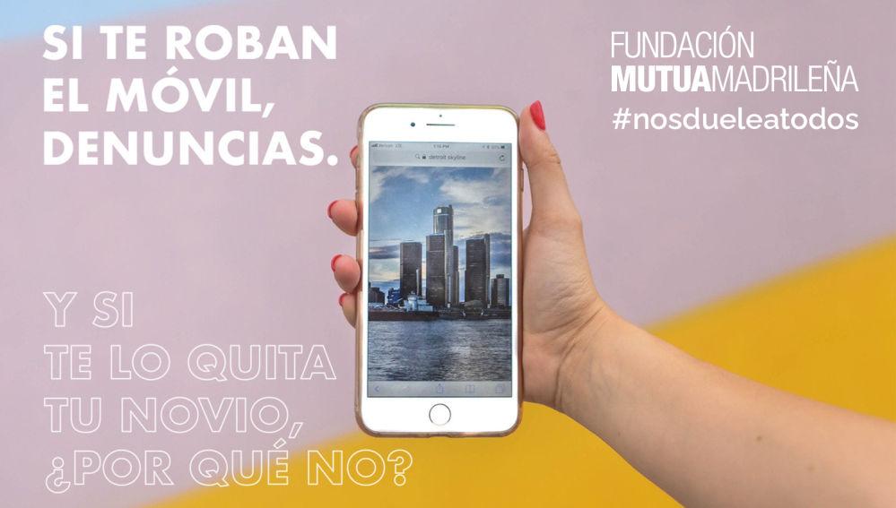 """""""No controles su móvil"""", concurso #NosdueleaTodos"""