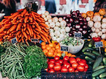 Productos alimenticios ecológicos