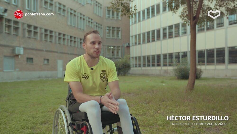 La historia de Héctor Estrurillo