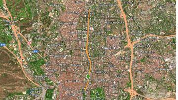 Recorrido 10 KM carrera Ponle Freno Madrid