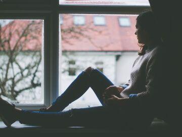 Persona joven con problemas de depresión
